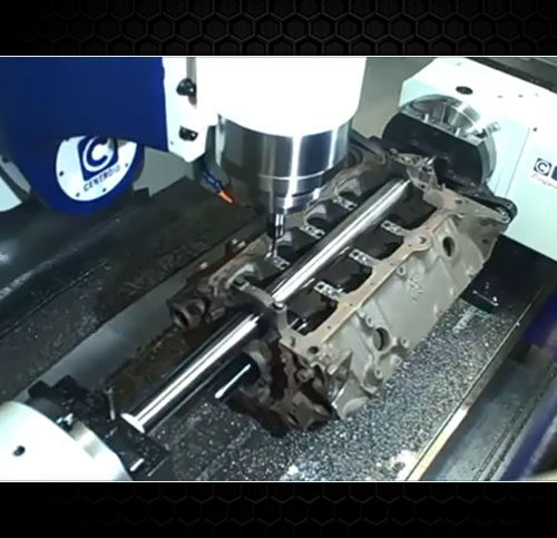 Engine Block Blueprint & CNC Machining | Precision Race Engines